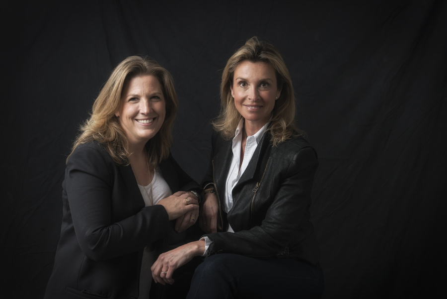 Inmaculada Recio y Silvia Trigueros