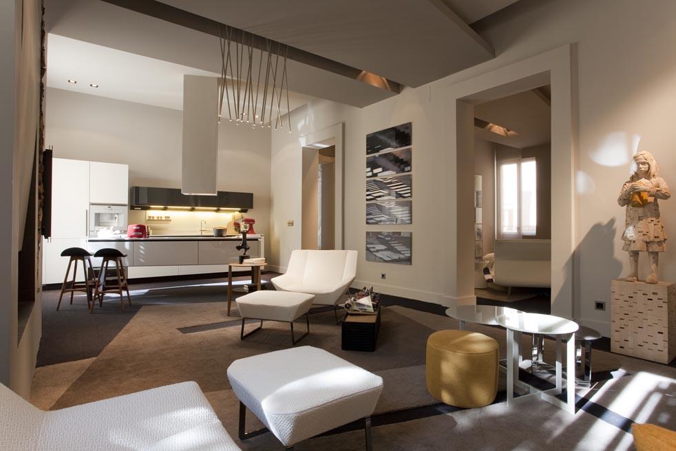 Ambientes integrados por concepto dr en casa decor madrid for Almacenes poveda