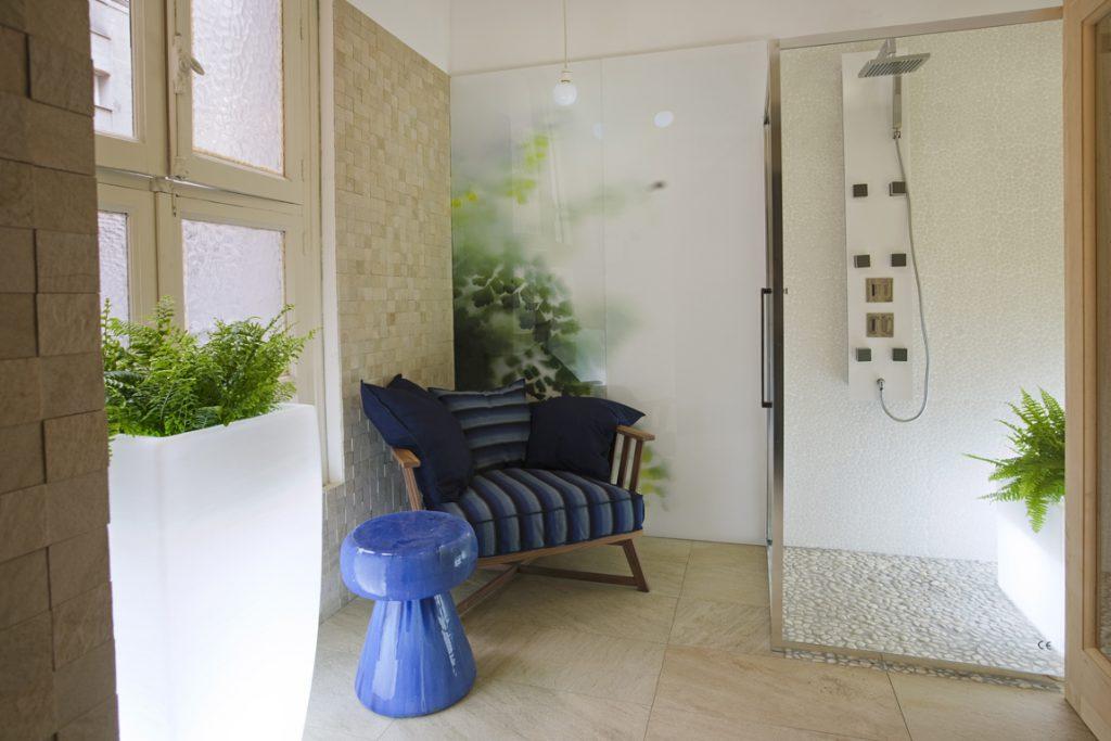 Baño Spa por Cuarto Interior en Casa Decor Madrid 2010
