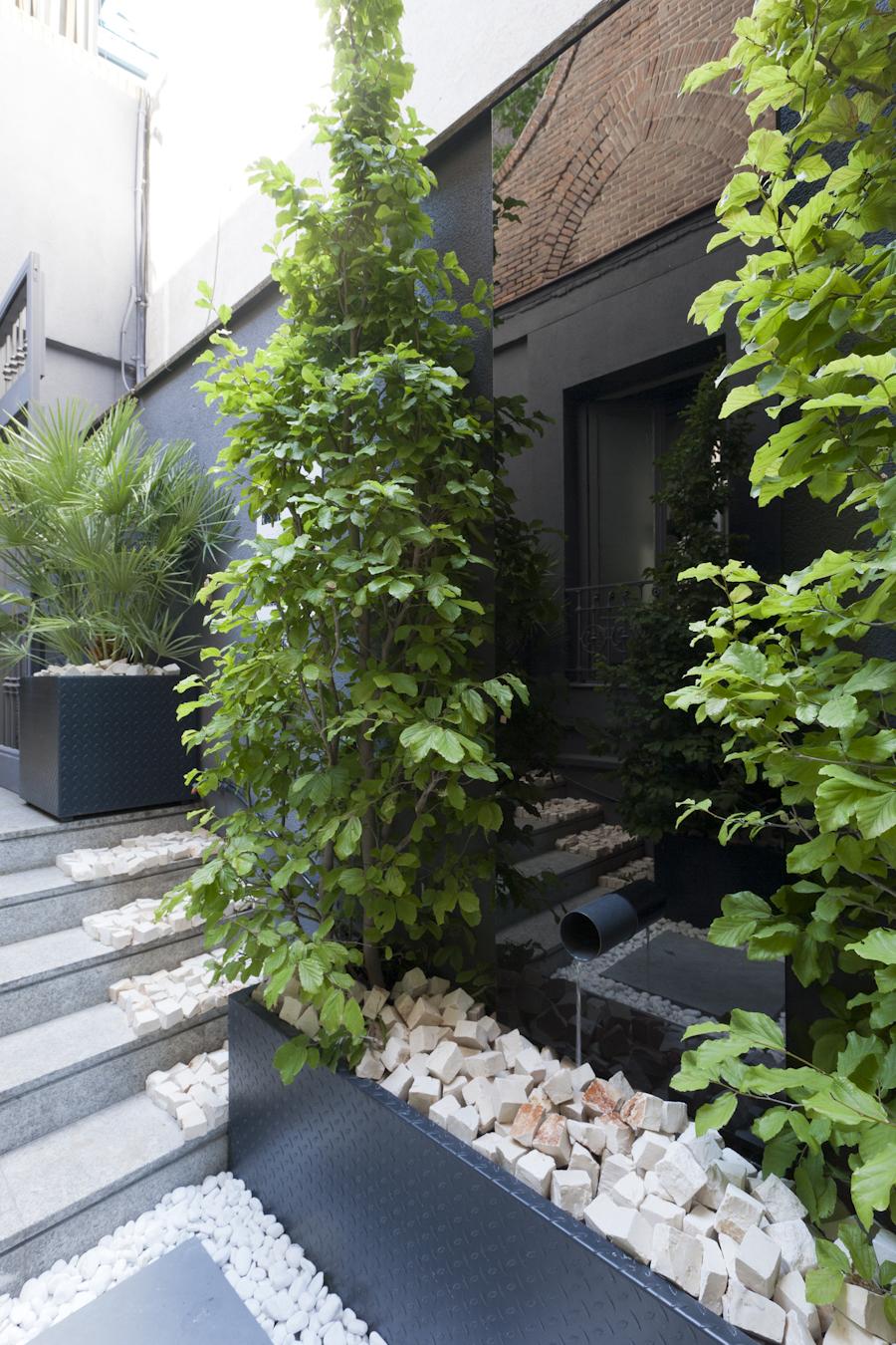 Jardín sencillo y ordenado – «Oasis urbano»