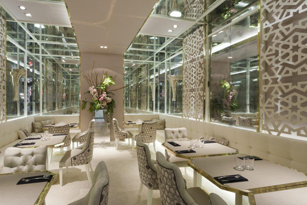 Restaurante filanthos por luis puerta en casa decor madrid - Interioristas en madrid ...
