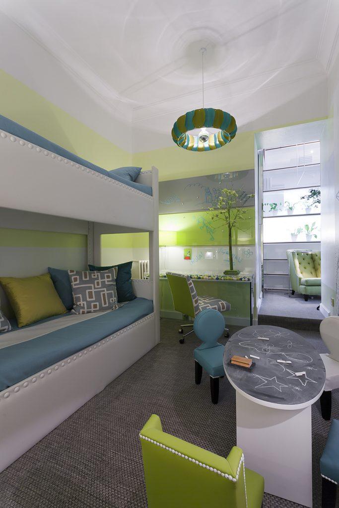 Dormitorio infantil por sof a calleja en casa decor madrid - Interioristas en madrid ...