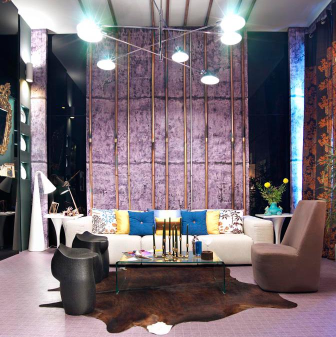 Sal n comedor proyectado por disak studio en casa decor - Sofia calleja decoracion ...