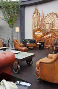 Restaurante de inspiración inglesa por Cuca García Lorente en Casa Decor 2013