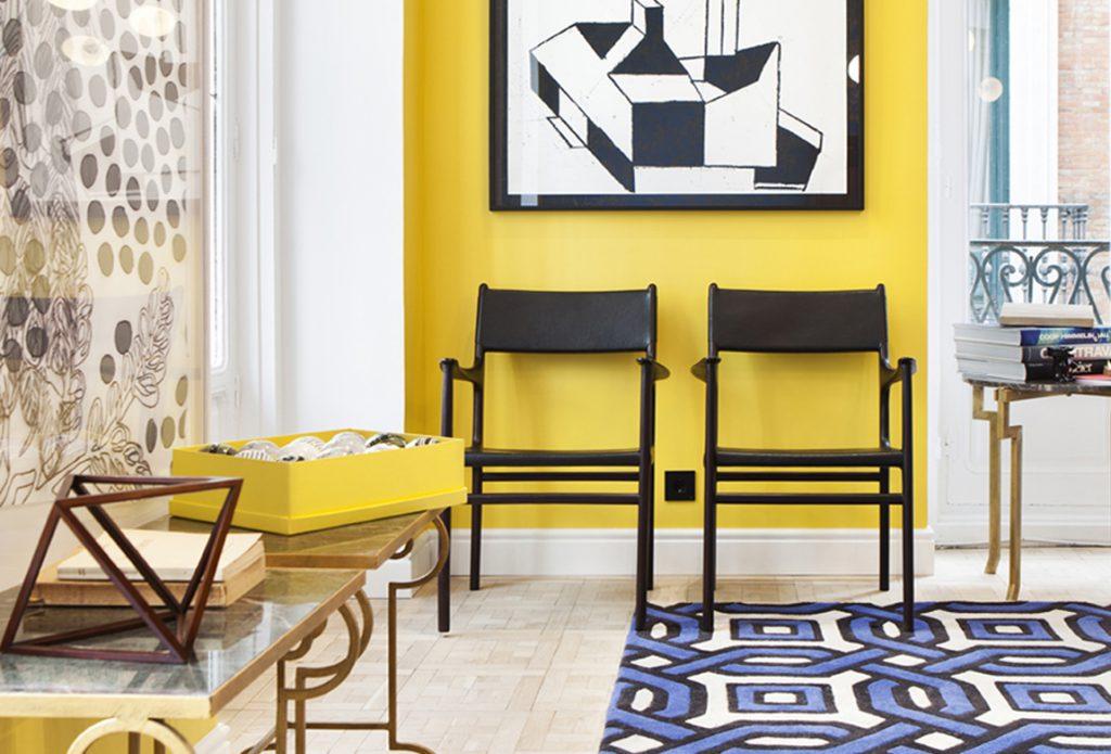Sala de estar realizada por jean porsche en casa decor for Sala de estar dibujo