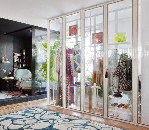 Salón-vestidor de CLO Emotional Design en Casa Decor 2015