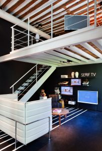 Sala de TV Samsung de Diego Rodríguez en Casa Decor 2016