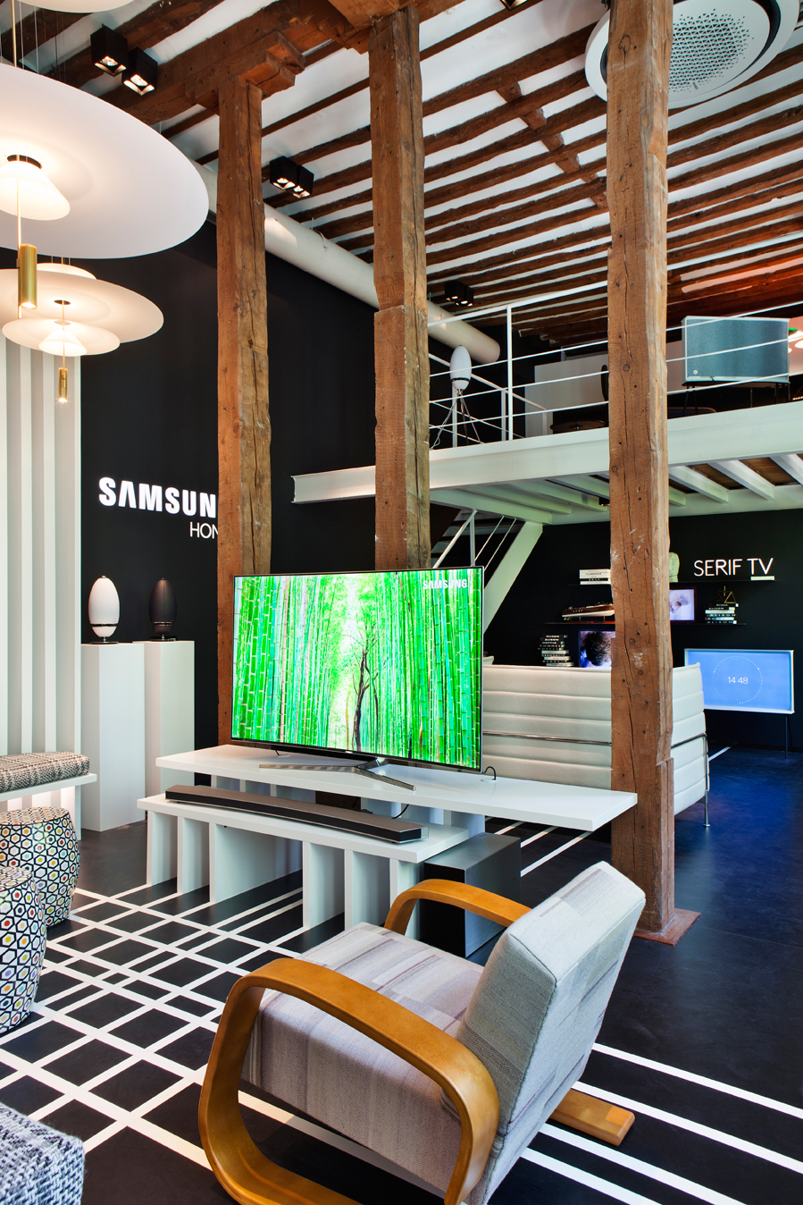 Sala de TV – Samsung SUHD TV