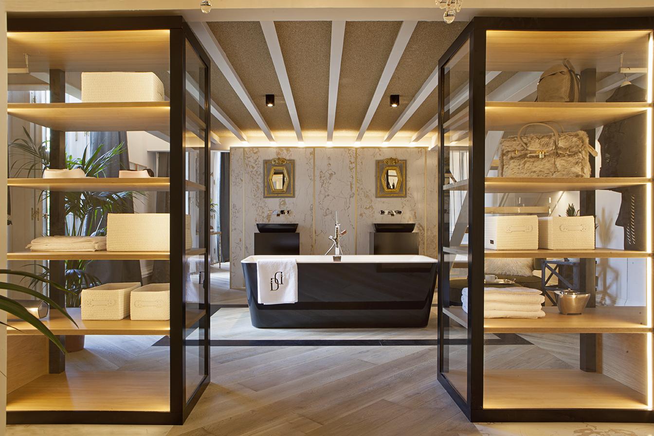 Suite diseñada por Disak Studio en Casa Decor 2016