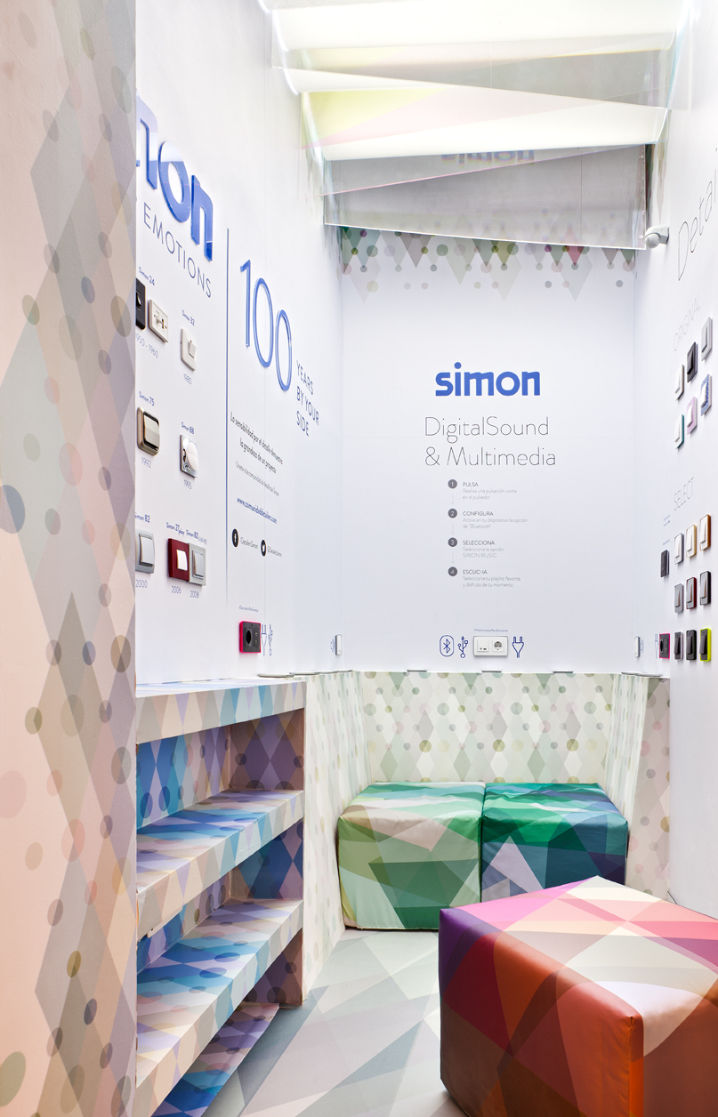 Pared Creativa Simon – «Desconectar para conectar»