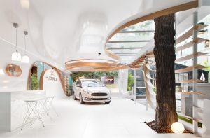 Espacio Ford Vignale de Héctor Ruiz-Velázquez en Casa Decor 2016