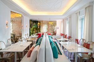 Restaurante Flamingo de Marisa Gallo en Casa Decor 2016
