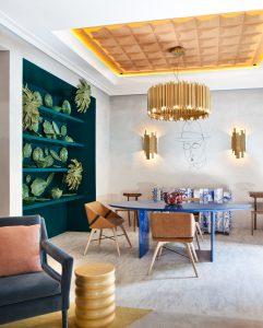 Suite realizada por Pepe Leal parala Embajada de Portugal en Casa Decor 2016