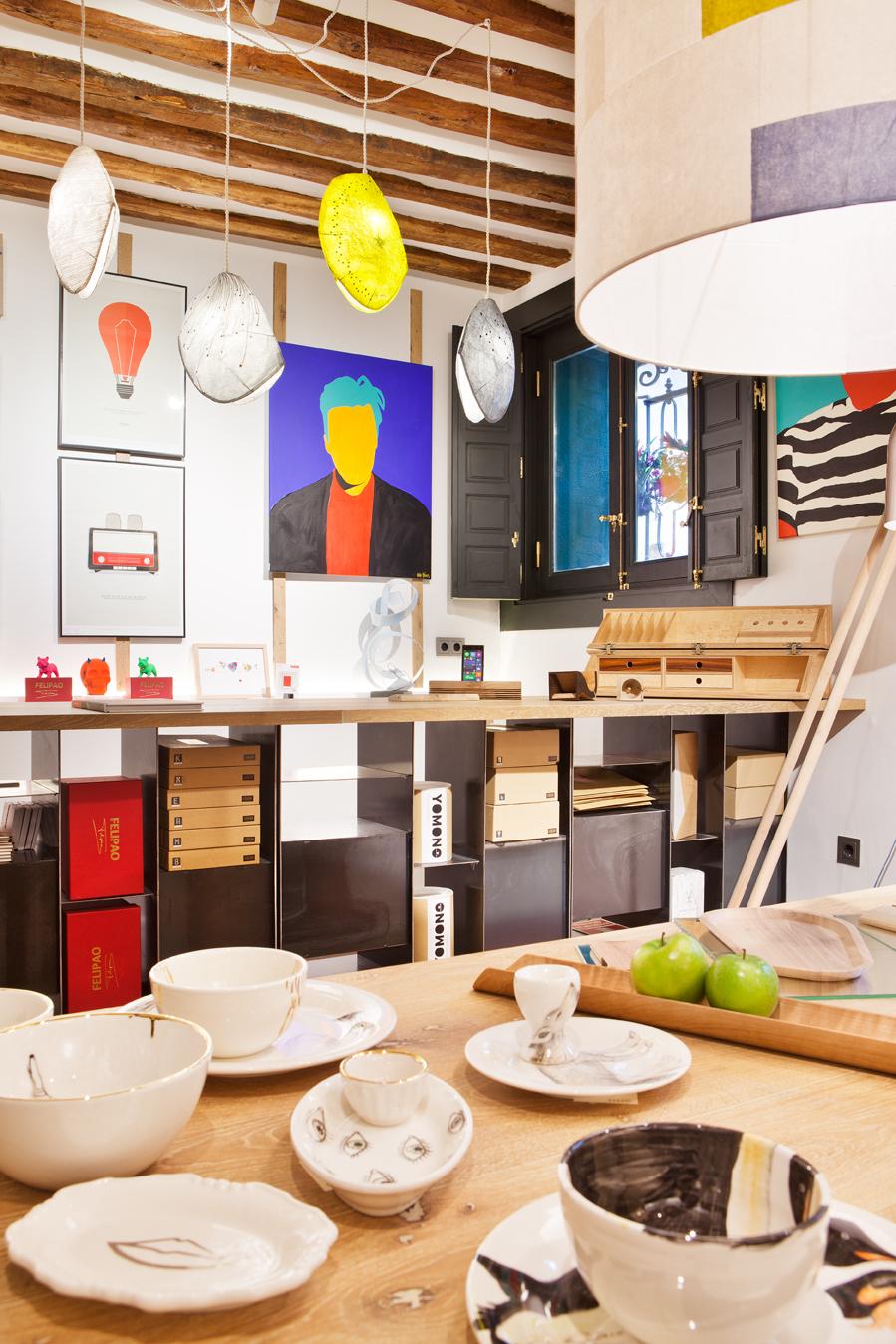 """Tienda de diseño – """"En un lugar de la casa…"""""""