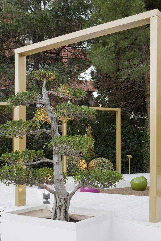 Jard n exterior de jordi conillas y jordina grifell en for Casa jardin barcelona