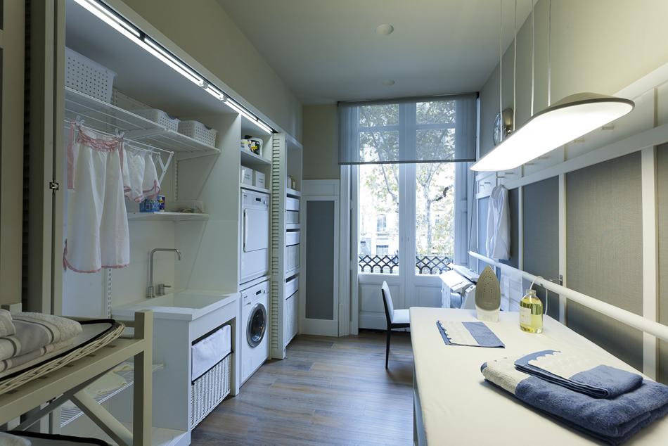 Cocina comedor despensa y planchador por deulonder en for Cuartos lavaderos