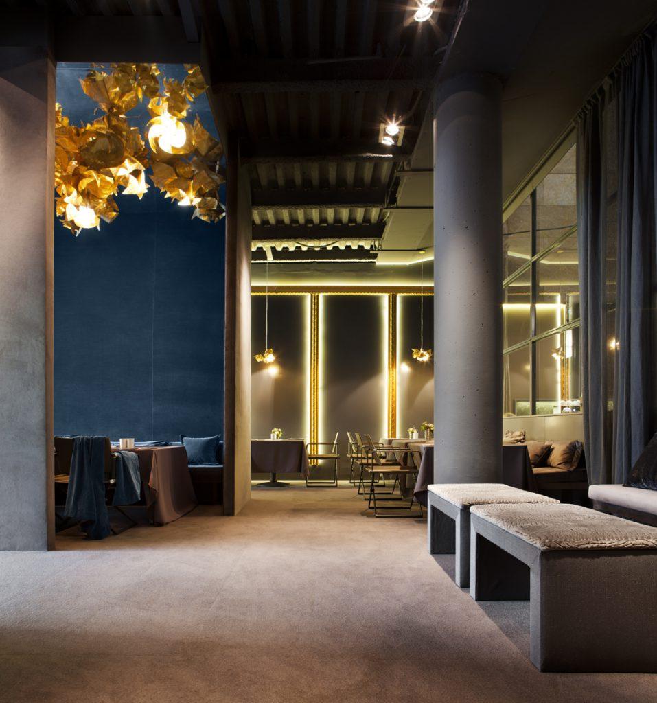 Restaurante por sara folch en casa decor barcelona 2012 - Interioristas en barcelona ...