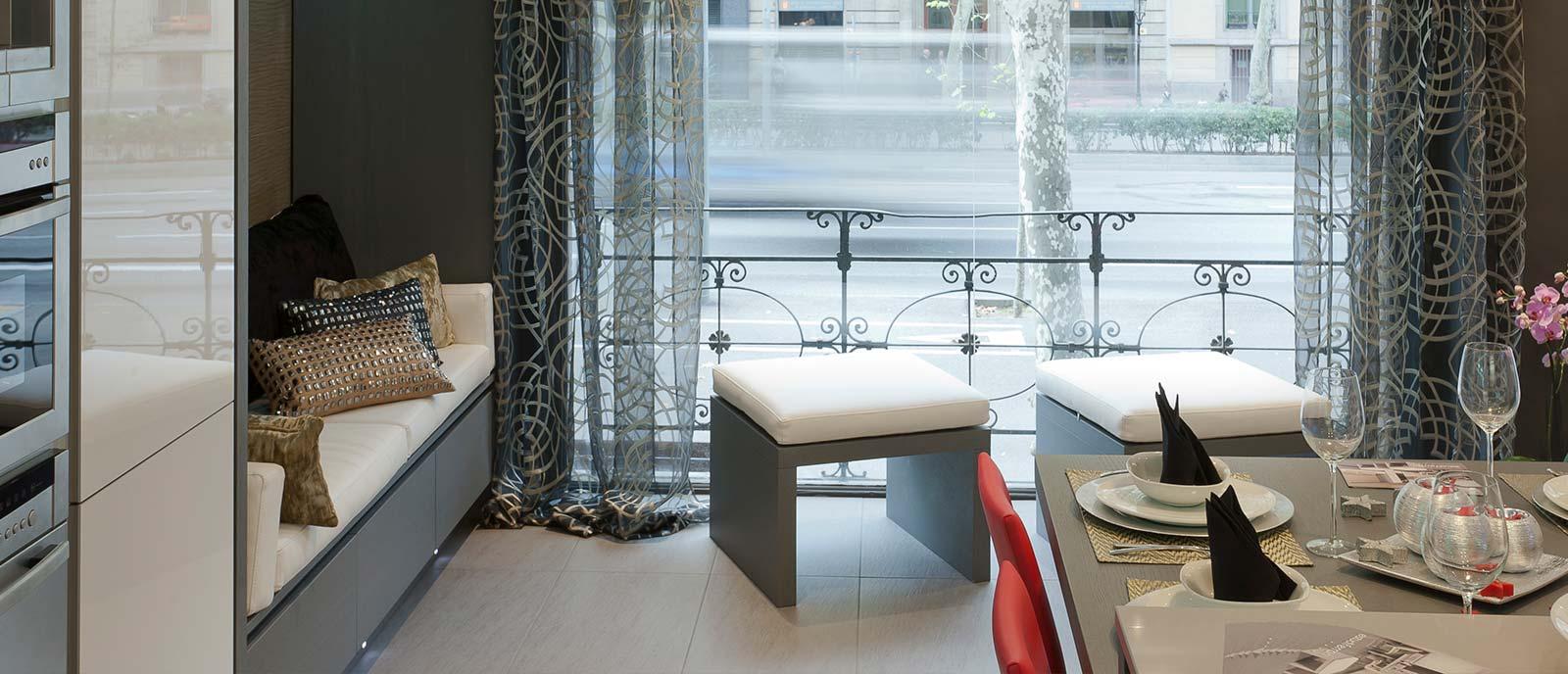 Apartamento – «Cocina-estar, plancha y sala de baño»