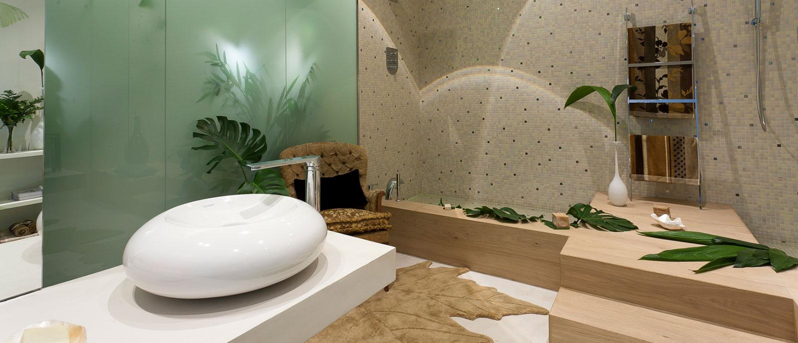 Baño principal «Neonaturaleza»