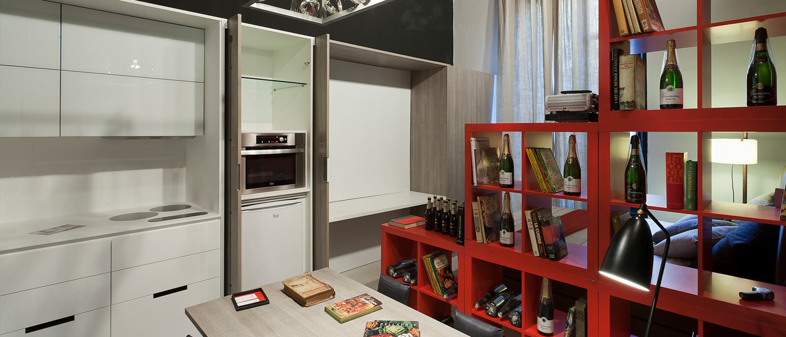 "Piso de estudiante – ""The Cooking Loft"""