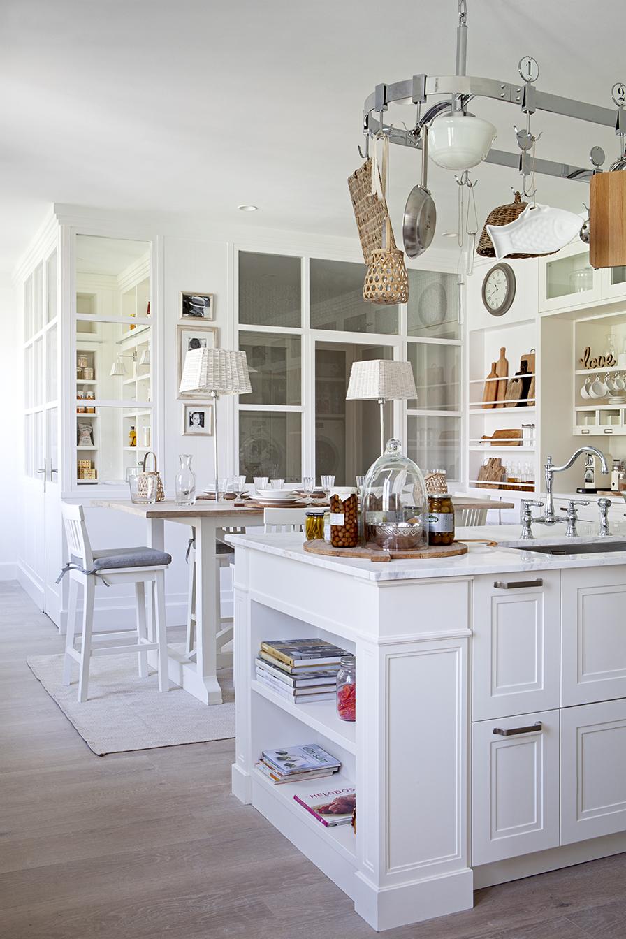 Cocina y Family Room – «Las dos doncellas»