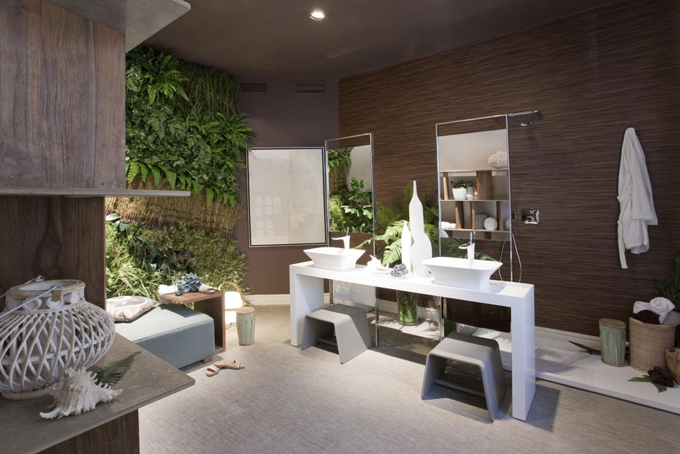 Dormitorio con ba o integrado por alcal interiorismo en - Interiorismo dormitorios ...