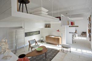 Loft de 60 m2 por Héctor Ruiz-Velázquez en Casa Decor Madrid 2010