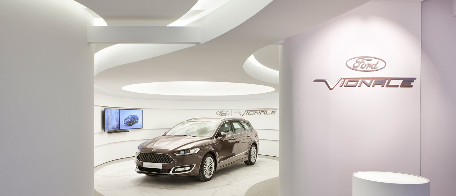 Espacio Ford – «Vignale Concierge Lounge»