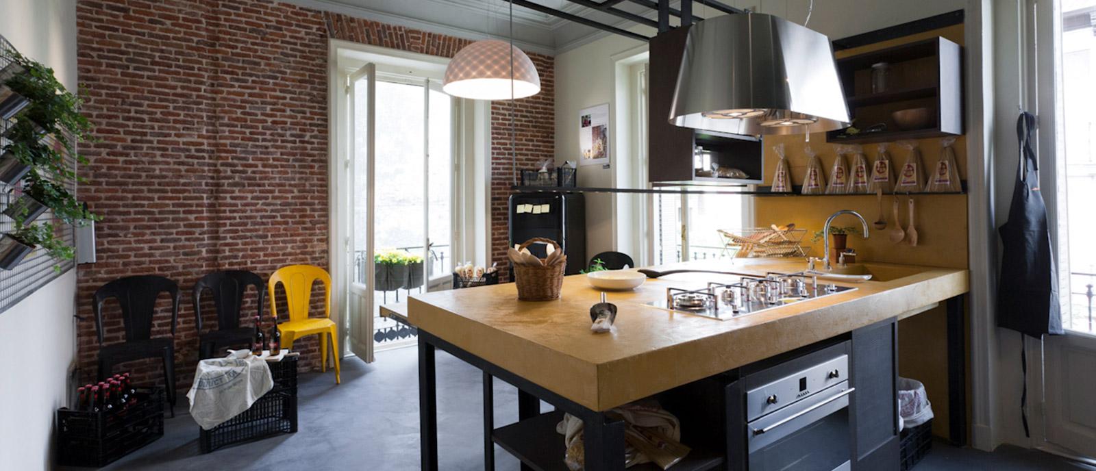 """Cocina de estilo industrial – """"PAST-IT. Hands made ideas"""""""