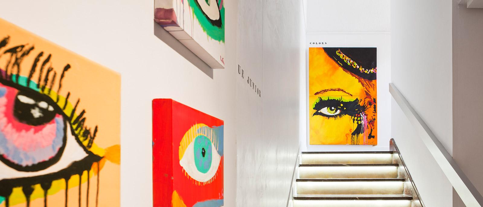 Escalera – «Colección Miradas»