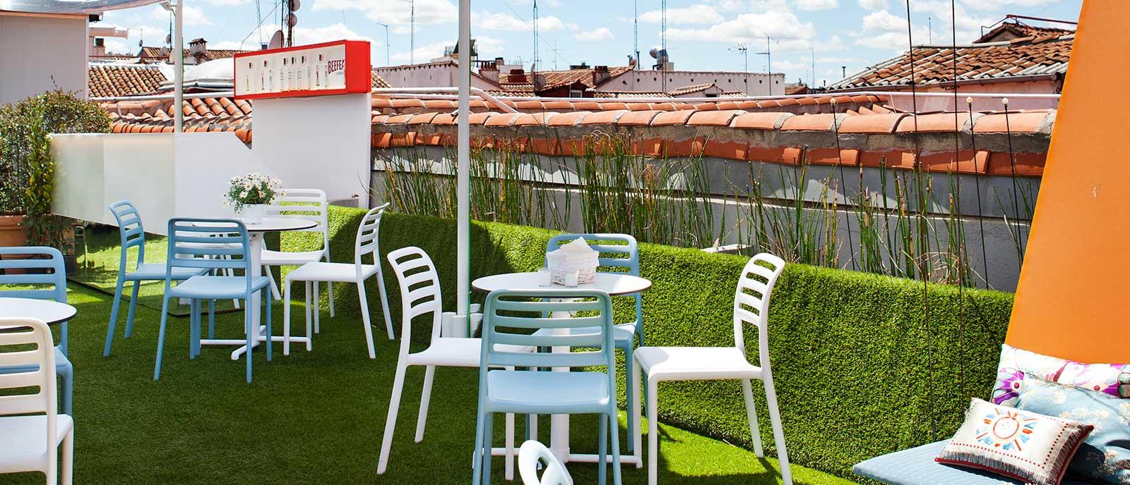 Terraza en azotea – Espacio Beefeater