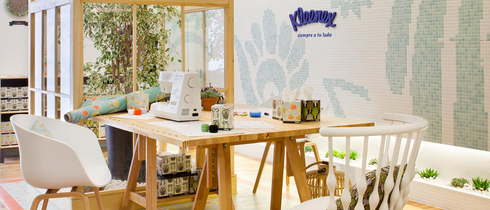 "Taller de costura – ""Kleneex eco-Decor"""