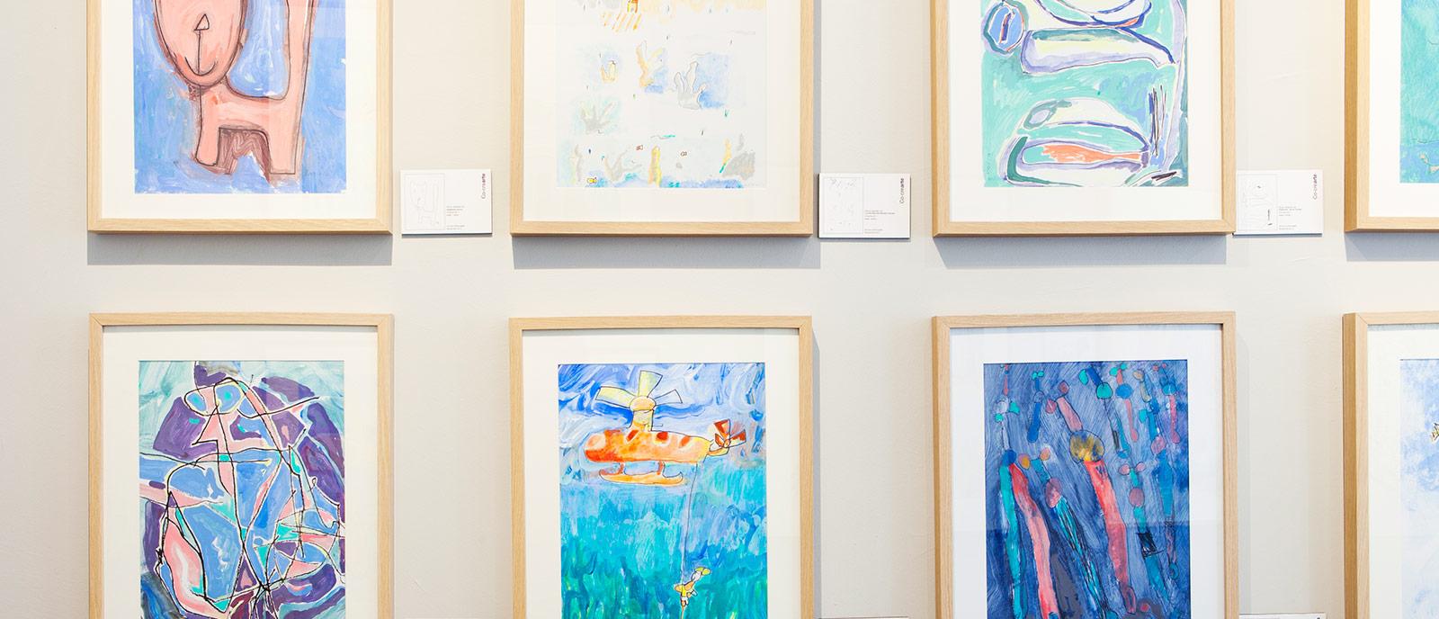 Exposición arte infantil