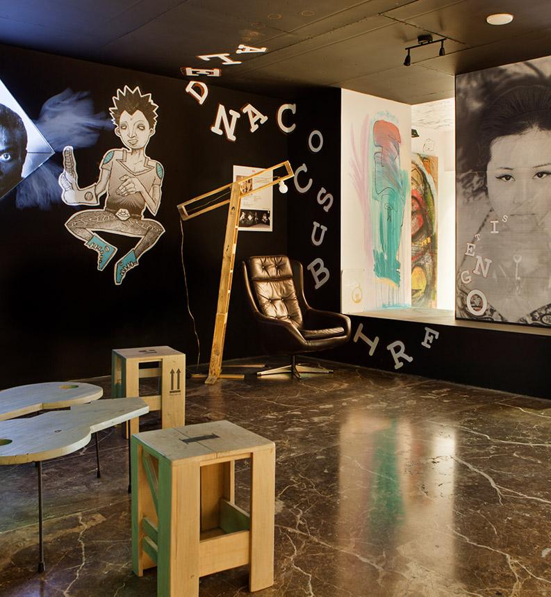 Sala de arte – «Volando Vengo», JuanLoste y CucaGarcíaLorente