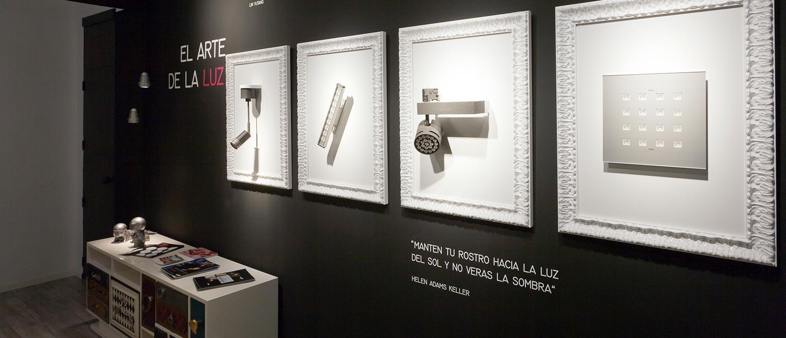Galería de arte – «El arte de la luz»
