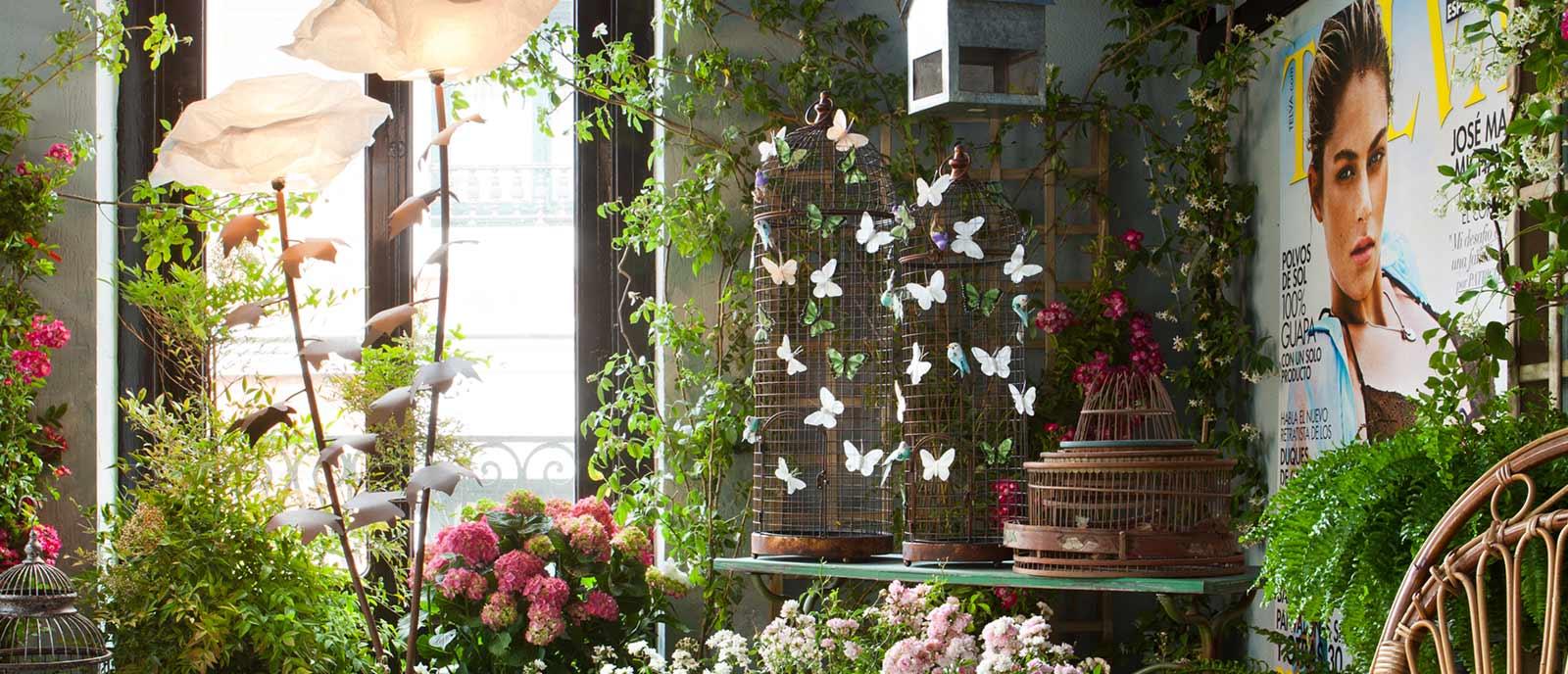 Jardín interior – «Telva en el País de las Maravillas»