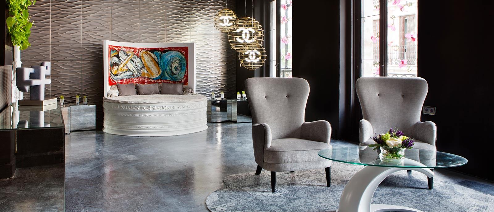 Suite de hotel – «Emociones Divergentes»