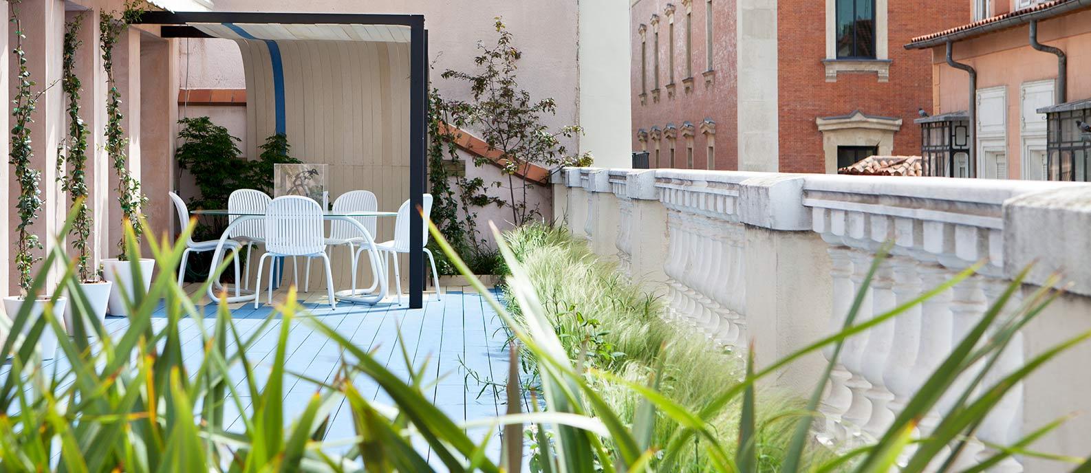 Terraza urbana – «Frash-Scape»