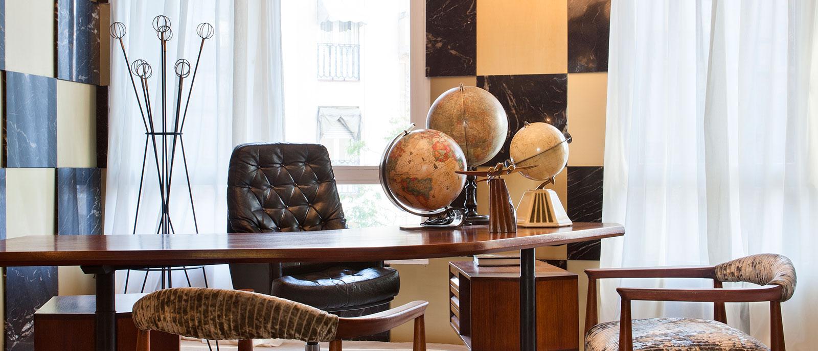 Zona de trabajo – «Desk-room»