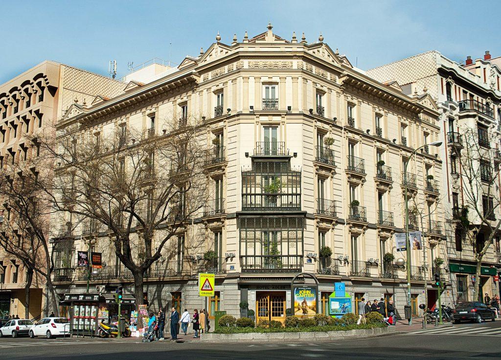 Edificios de Casa Decor: calle Goya 43 en 1996