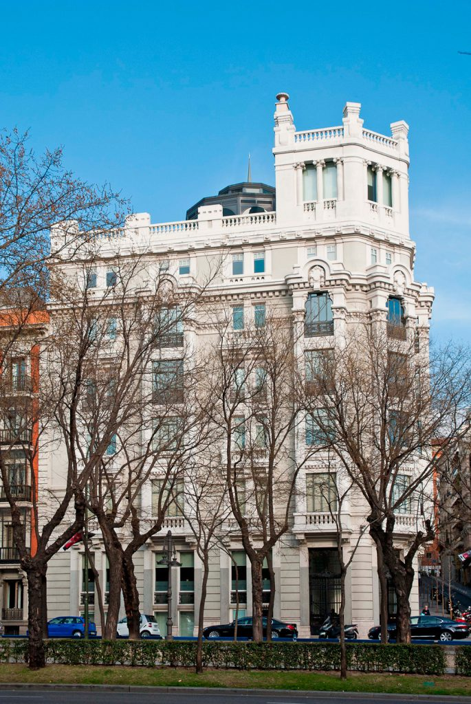 Edificios de Casa Decor: castellana 28, edición 2002
