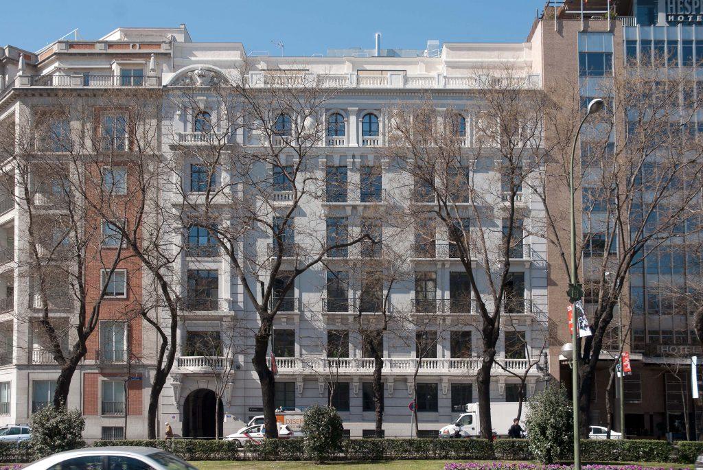 Edificios Casa Decor: Paseo de la Castellana 55, edición 2003