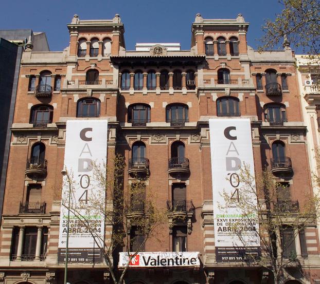Edificios Casa Decor 2004, calle Príncipe de Vergara 15
