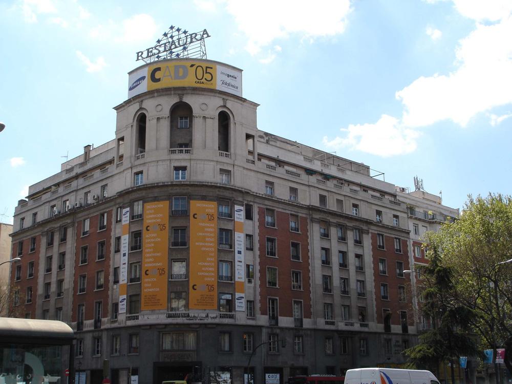 Edificios de Casa Decor: Paseo de Recoletos 20, edición 2005