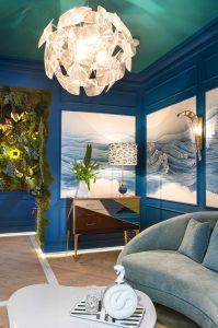 """Club privado """"Blue Moon"""" de As Interiorista y Alfaro Arquitectura en Casa Decor 2017"""