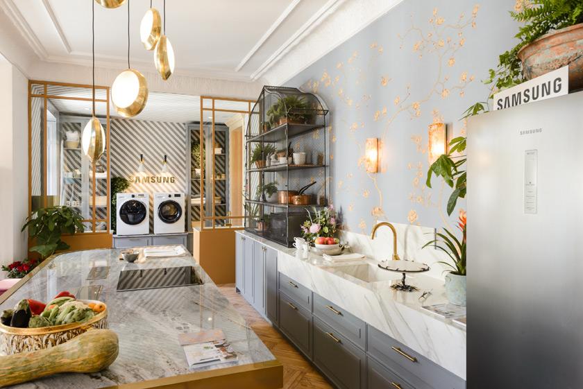 Las cocinas que nos enamoran en casa decor 2017 for Tendencias en cocinas 2017