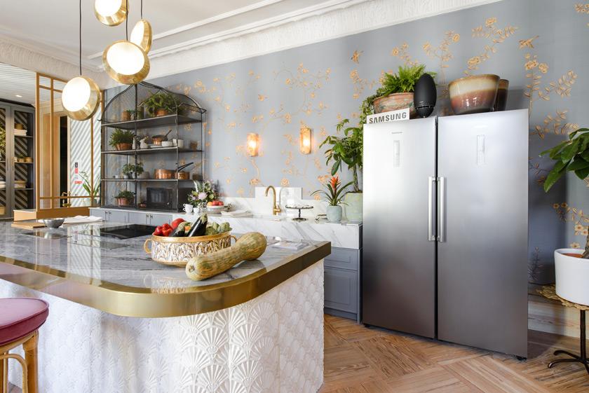 "Salón-cocina ""Trendy Kitchen"" – Espacio Samsung"