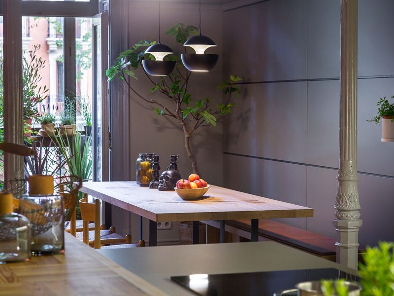 Mesas de comedor vistas en Casa Decor 2017