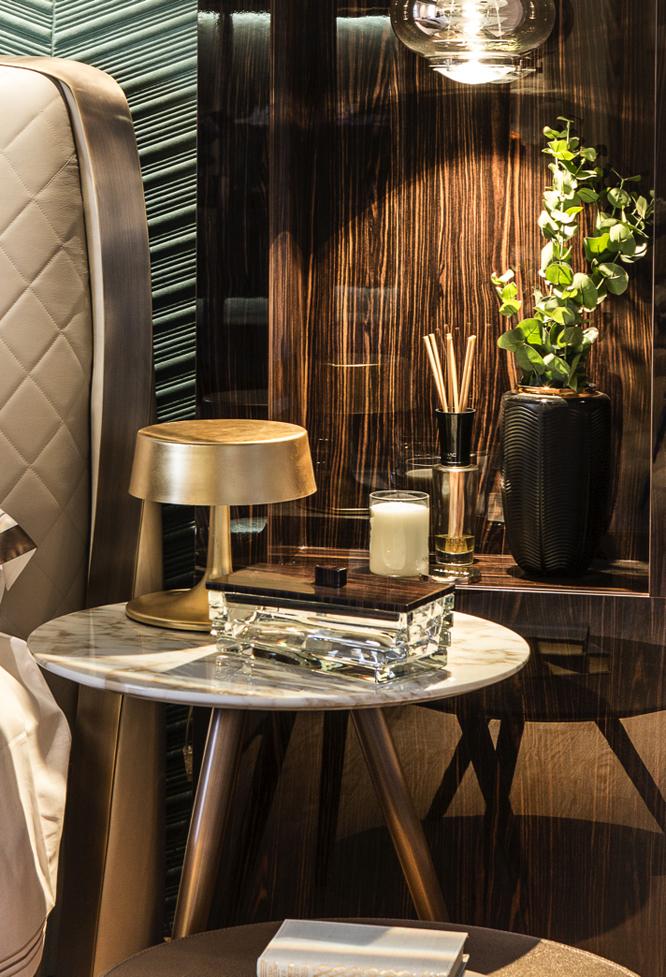 "Suite ""Living Green"" de Ele Room 62 en Casa Decor 2017"