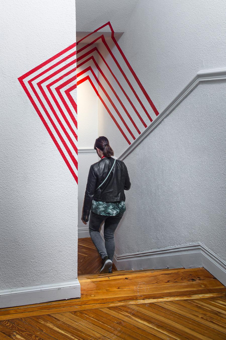 Escalera y ascensor «Ilusiones», Grado de diseño de interiores ESNE